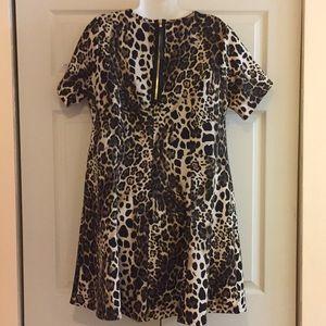 👗Classy Leopard Print Dress 👗 1X